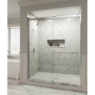 Basco Rotolo 48 X 70 Bypass Semi Frameless Shower Door Finish