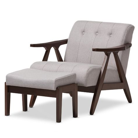 Astonishing Found It At Wayfair Enrico Mid Century Modern Wood Fabric Caraccident5 Cool Chair Designs And Ideas Caraccident5Info