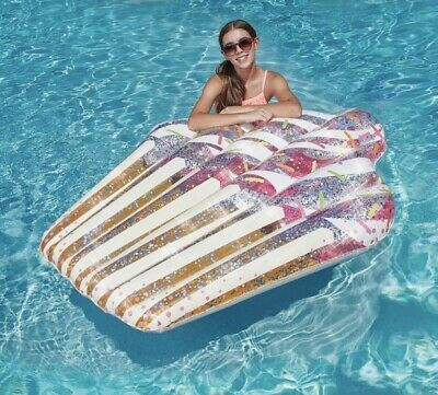 Details About Inflatable Cupcake Pool Float