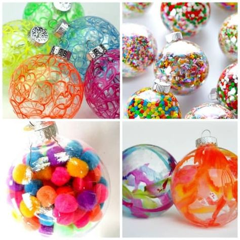 Clear Glass Ornament Ideas Clear Glass Ornaments Preschool
