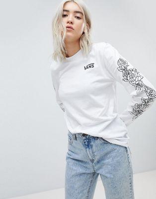tee-shirt manche longue vans