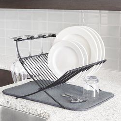 10 Easy Pieces Countertop Dish Drainers Dish Drainers