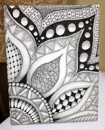 Drawing Doodles Sharpie Zentangle Patterns 62 Best Ideas