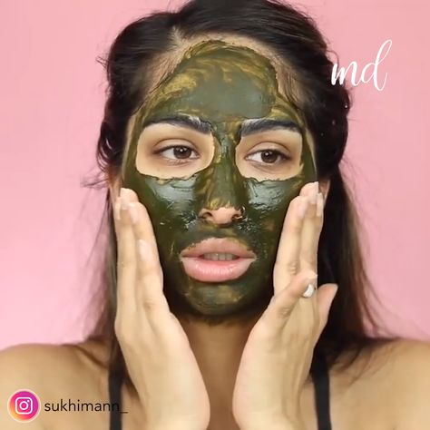 MORINGA LEAF POWDER MASK