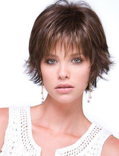 Rene Of Paris Coco Wig Short Thin Hair Thin Hair Haircuts Short Hair With Layers