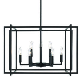 Tribeca Lighting Collection 6070 Blk Series Black Finish