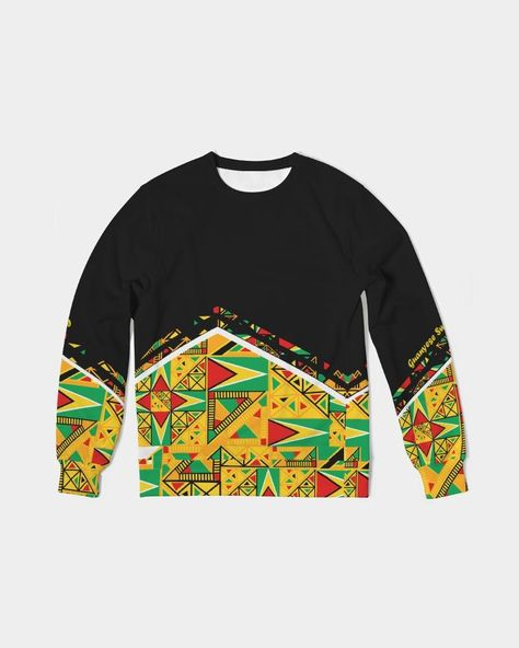 About The Art Guyanese Swag Guyana Tribal Print Guyanese Swag Guyana Tribal Print Product Details You can never have too many classics, including our Men's Classic French Terry Crewneck Pullover. Its regular fit is not too big, but not too tight so you can layer it or wear it alone. Finished with a smooth surface on the outside and loop knitting inside for the right amount of warmth and comfort. Soft, durable fabric Crewneck Long sleeve, knit cuff and waistband Heavyweight french terry Printed,