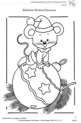 Lesefertigkeitstraining Mit Der Weihnachtsmaus 2 Klasse Ideenborse Grundschule 24 Geschichten Fur Ausmalbilder Weihnachten Ausmalbilder Ausmalbilder Gratis