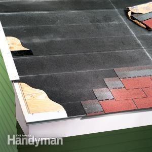 how to cut asphalt shingles