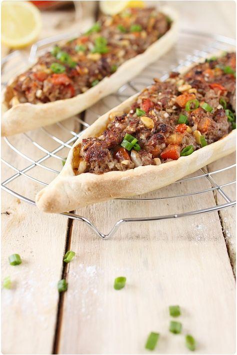 Pizzas turques