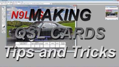 Making Qsl Cardstips And Tricks Youtube Pertaining To Qsl Card Template 10 Professional Templates Ideas Card Template Best Templates Visiting Card Templates