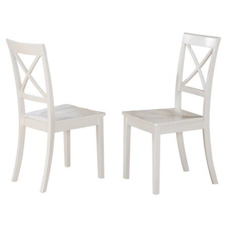East West Furniture Boston X Back Dining Chair With Wooden Seat Set Of 2 Formaldiningrooms Wooden Dining Room Chairs Solid Wood Dining Chairs Dining Chairs