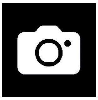 Camera Icon Black And White Camera Icon Blackandwhitecameraicon In 2021 Iphone Photo App Black App Camera Icon