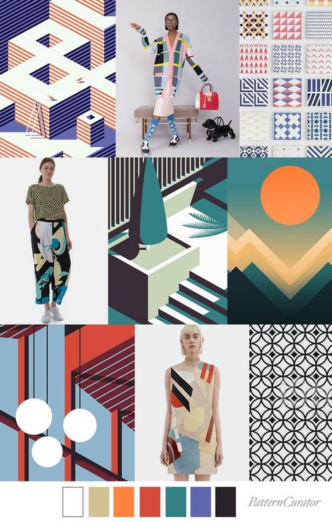 Our FV contributor and friend, Pattern Curator curates an insightful forecast of mood boards & color stories.