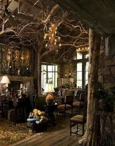 Witch Home Interior Decorating Ideas Fantasy House Fantasy