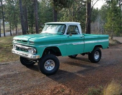 1966 Gmc 4wd Pickup Truck Gmc Trucks Chevy Trucks Trucks