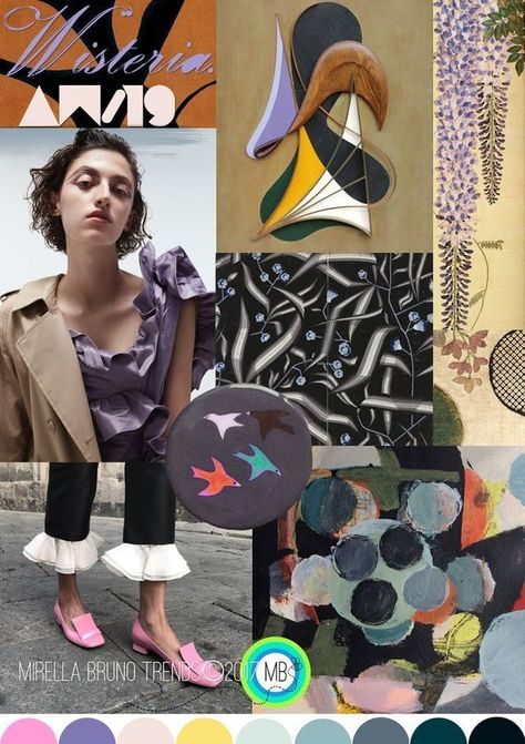 FV contributor, Mirella Bruno is a Fashion Print Trend Graphic Designer currently living in the French Swiss Alps. She curates an insightful forecast of mood boards for print, graphic and color direct #FashionTrendsBoard