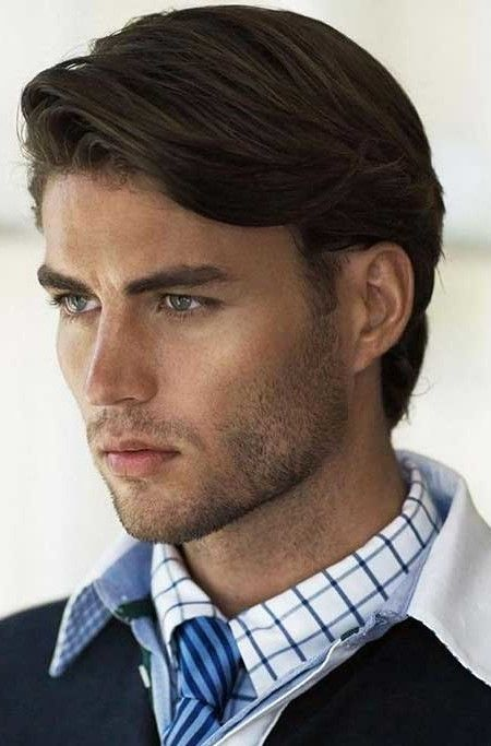 Cool 45 Elegant Hairstyles For Medium Hair Men More At Http Fashionfezt Com I Mens Hairstyles Medium Mens Medium Length Hairstyles Medium Length Hair Styles