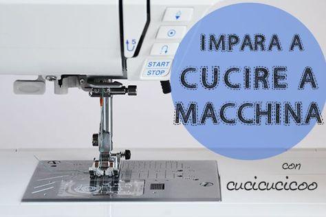 Impara a cucire a macchina: un corso di cucito gratuito per prinicipianti. Il programma del corso.