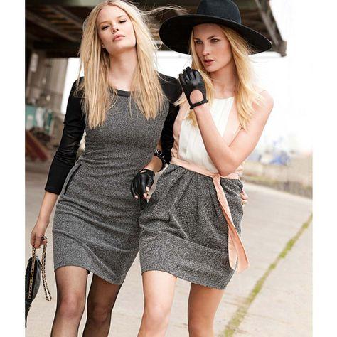 Kleid in schwarz von REKEN MAAR bei IMPRESSIONEN Jetzt