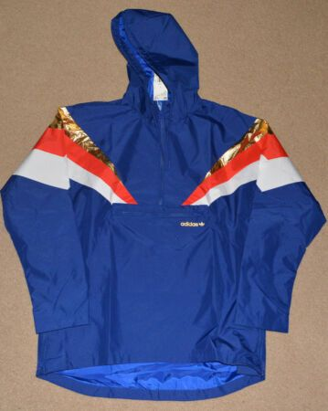 Details About Adidas Originals Fontanka Jacket Blue Red Gold White