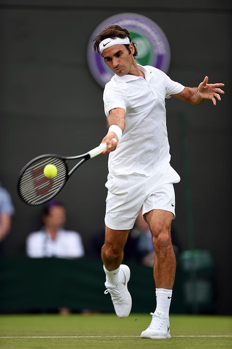 Roger Federer 2014 Wimbledon Championships. I'm working with the Nike agent who signed this guy. He's my roomate's dad. He's offered to let me take over scouting in America and send me on some trials. It'd be in Malaga. I'm still ballin