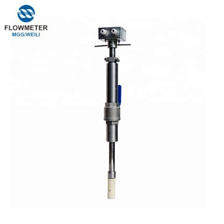 Insert Electromagnetic Flowmeter Is Suitable For Large Waste Water Pipeline Simple Structure High Reliability No Need To Measu Water Pipeline Plugs Metering