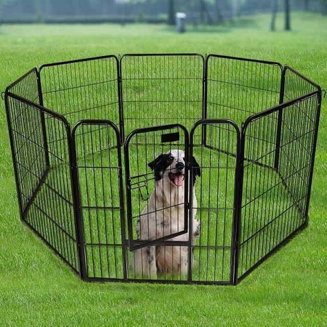 Premium Temporary Fence For Dogs From Allmax Dog Playpen Pet