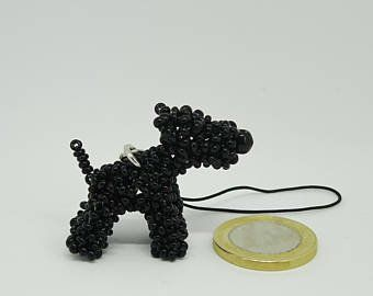 Small Lovely And Beautiful Beaded Dogs By Seedbeaddogs On Etsy