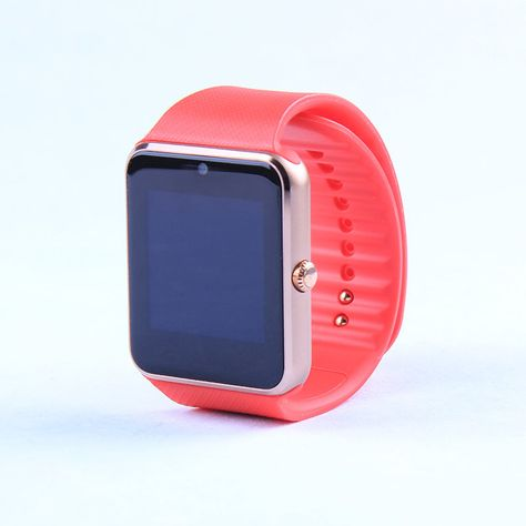 Smart Watch: GT08 Clock Sync Notifier Support w/Bluetooth