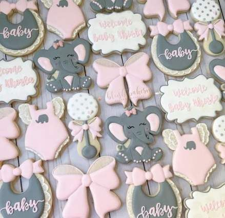 51 Ideas Baby Shower Food For Boy Elephant Sugar Cookies For 2019