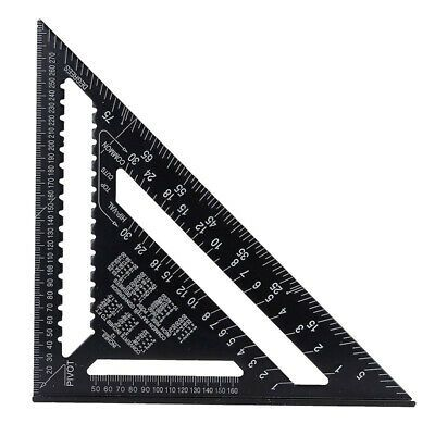 Sponsored Ebay Large Aluminium Roofing Quick Square 12 Rafter Angle Frame Measuring Carpenter Precision Measuring Triangle Ruler Measurement Tools