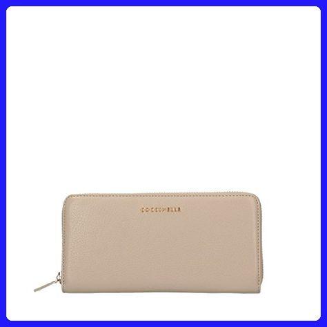 5cc7cce99d9f39 Coccinelle Metallic soft wallet beige - Top handle bags ( Amazon  Partner-Link)