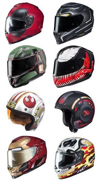 Marvel Motorcycle Helmet Collection 2019 Best Marvel Helmets Of