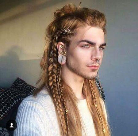 3 Men Long Braid Hairstyle 2017113098 Lange Haare Zopf Lange Haare Lange Haare Manner
