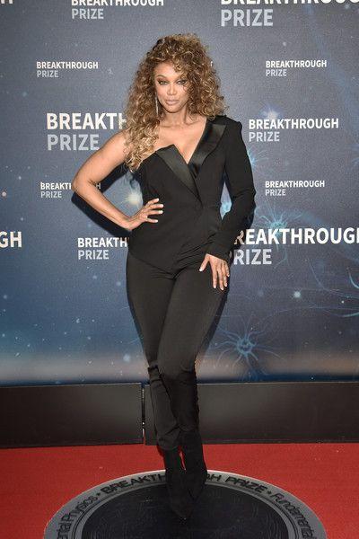 Tyra Banks Jumpsuit Tyra Banks Tyra Celebrity Look
