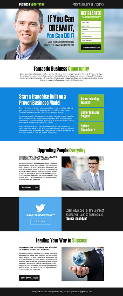 converting-business-responsive-lp-012 | Business Landing Page Design preview.