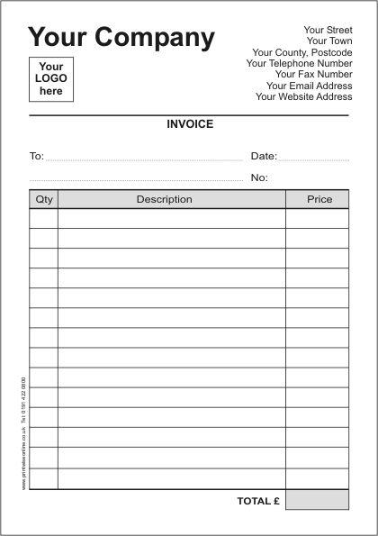 Printable Receipt Template Uk