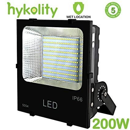 Hykolity 200w 22000lm Led Flood Light Outdoor Weatherproof Signage Security Light For Landscape Architecture 80 Security Lights Led Flood Lights Flood Lights