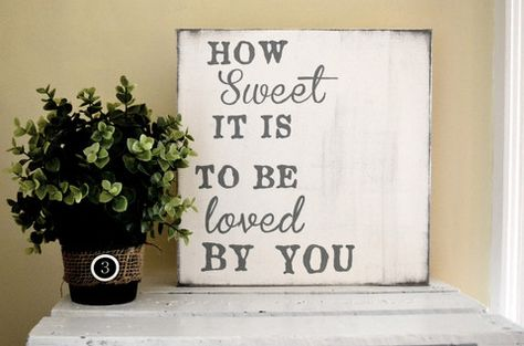 """Canvas """"How sweet it is"""" 12x12 {customizable} - Aimee Weaver Designs"""