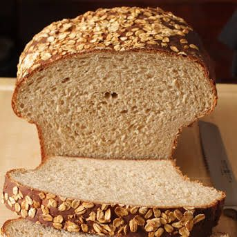 Oatmeal Bread Recipe Yummly Recipe In 2020 Oatmeal Bread Oatmeal Bread Recipe Bread