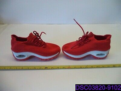 New No Tags Kids Red And White Tennis Shoe 2 Thick Sole Size 35 White Tennis Shoes Tennis Shoes Kids Tennis Shoes