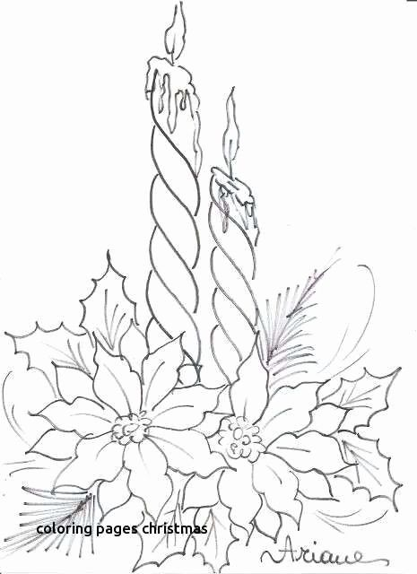 Flower Page Printable Coloring Sheets Christmas Flower Coloring