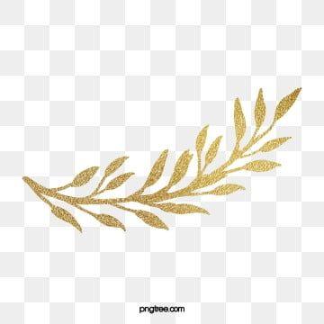 Golden Laurel Leaves Golden Lauryl Gold Leaf Png Transparent Clipart Image And Psd File For Free Download Watercolour Texture Background Watercolor Flower Wreath Laurel Leaves