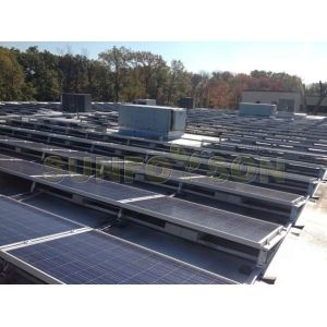 Sistema De Montaje Para Aparcamiento Montaje En Suelo Solar Para Cochera Xiamen Sunforson Co Ltd Instalacion De Paneles Solares Tejas Solares Paneles Solares