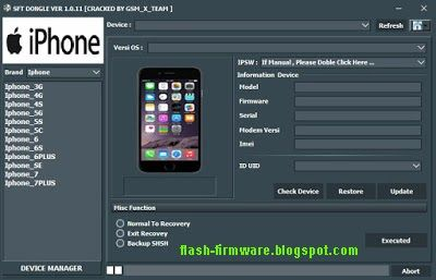 Download SFT Dongle Tool Feature: FASTBOOT - Identify Device Before