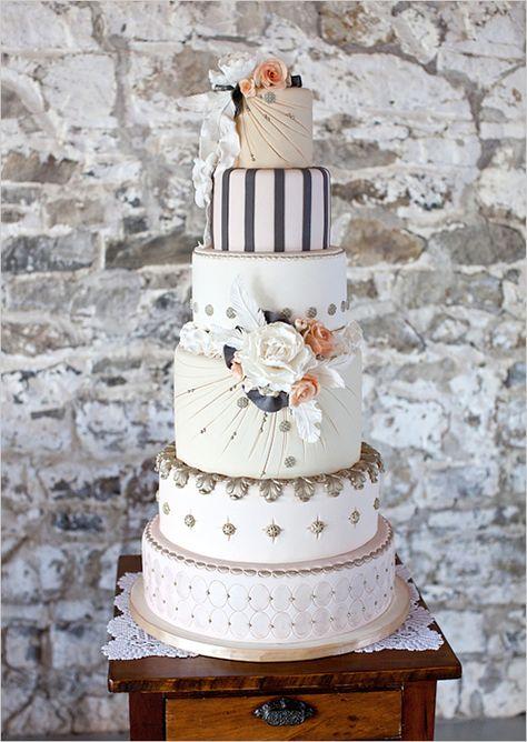 gorgeous and unique cake
