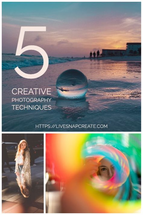 Creative Photography Using Objects To Shoot Through - Live Snap Create
