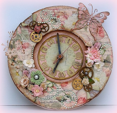 #MyFavouriteMakes. It's is absolutely beautiful. I've had a clock blank for…