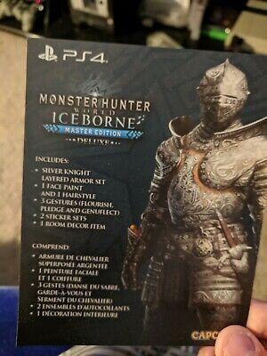 Ps4 Playstation Monster Hunter World Iceborne Yukumo Layered